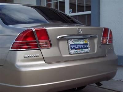 Putco - Honda Civic Putco Taillight Covers - 400846