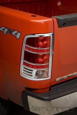 Putco - GMC Sierra Putco Taillight Covers - 400889