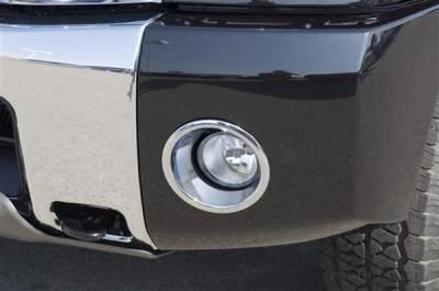 Putco - Nissan Titan Putco Foglight Cover - 401205