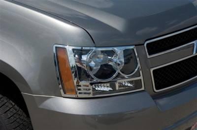 Putco - Chevrolet Tahoe Putco Headlight Covers - 401206