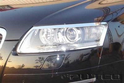 Putco - Audi A6 Putco Headlight Covers - 401208
