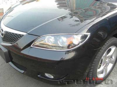 Putco - Mazda 3 Putco Headlight Covers - 401228