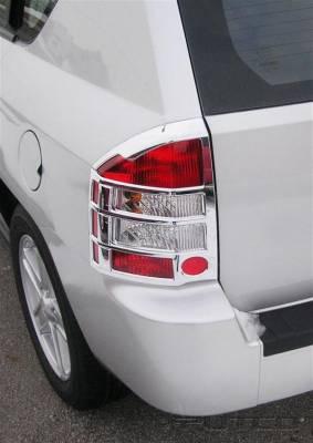Putco - Jeep Compass Putco Taillight Covers - 401269