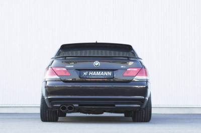 Hamann - Rear Bumper Insert