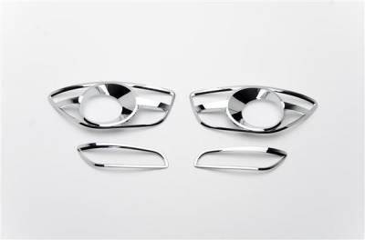 Putco - Hyundai Santa Fe Putco Foglight Cover - 401784