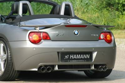 Hamann - Rear Apron Add On w.Duffuser for Twin-Dual Cut Out