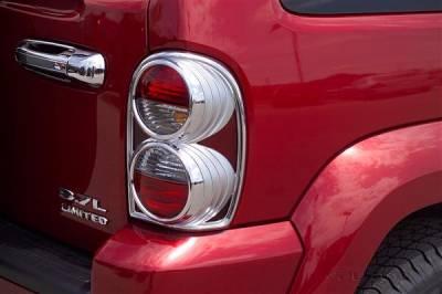 Putco - Jeep Liberty Putco Taillight Covers - 402803