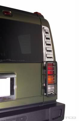 Putco - Hummer H2 Putco Chrome Taillight Vent Trim - 403409