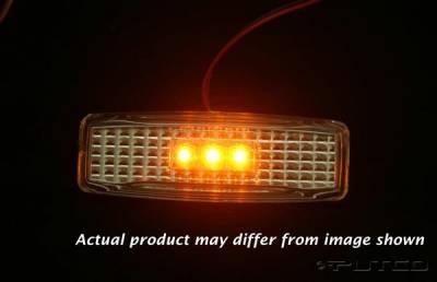 Putco - Dodge Ram Putco Fender Marker Lights - 930032