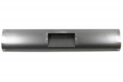 Hot Rod Deluxe - Chevrolet S10 Hot Rod Deluxe Steel Roll Pan with License Plate Box Center - RP120BC