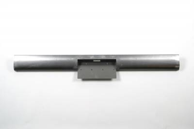 Hot Rod Deluxe - Chevrolet S10 Hot Rod Deluxe Steel Roll Pan with License Plate Box Center - RP123BC
