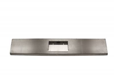 Hot Rod Deluxe - Dodge Ram Hot Rod Deluxe Steel Roll Pan with License Plate Box Center - RP136BC