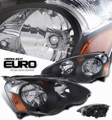 OptionRacing - Acura RSX Option Racing Headlight - 10-10105