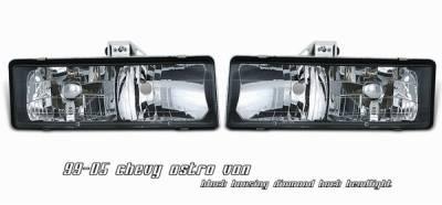 OptionRacing - Chevrolet Astro Option Racing Headlight - 10-15113