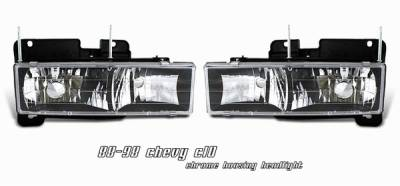 OptionRacing - Chevrolet C10 Option Racing Headlight - 10-15114