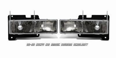 OptionRacing - Chevrolet C10 Option Racing Headlight - 10-15117