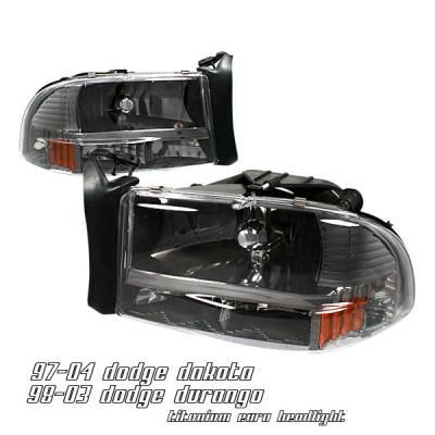 OptionRacing - Dodge Durango Option Racing Headlight - 10-17148