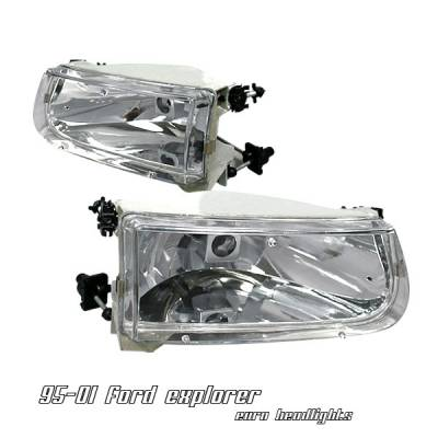 OptionRacing - Ford Explorer Option Racing Headlight - 10-18163
