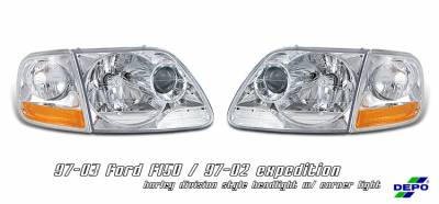 OptionRacing - Ford Expedition Option Racing Headlight - 10-18168