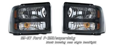 OptionRacing - Ford F250 Option Racing Headlight - 10-18171