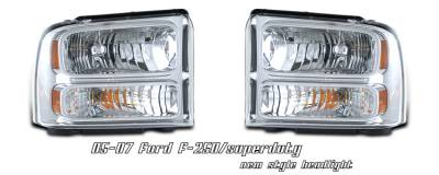 OptionRacing - Ford Superduty Option Racing Headlight - 10-18174