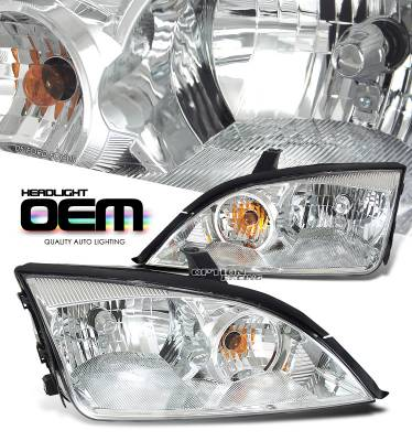 OptionRacing - Ford Focus Option Racing Headlight - 10-18179