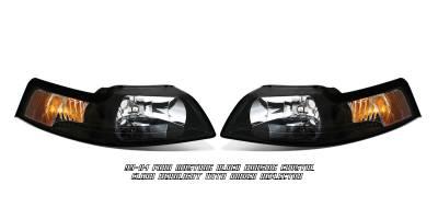 OptionRacing - Ford Mustang Option Racing Headlight - 10-18181