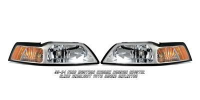 OptionRacing - Ford Mustang Option Racing Headlight - 10-18182