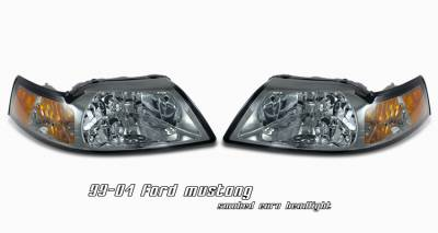 OptionRacing - Ford Mustang Option Racing Headlight - 10-18183