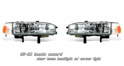 OptionRacing - Honda Accord Option Racing Headlight - 10-20190