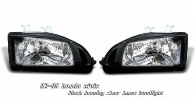 OptionRacing - Honda Civic Option Racing Headlight - 10-20197