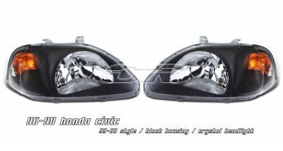 OptionRacing - Honda Civic Option Racing Headlight - 10-20200