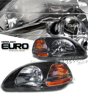 OptionRacing - Honda Civic Option Racing Headlight - 10-20201
