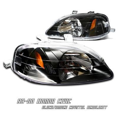 OptionRacing - Honda Civic Option Racing Headlight - 10-20203