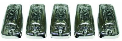In Pro Carwear - GMC CK Truck IPCW LED Cab Roof Lights - 5PC - LEDR-303S