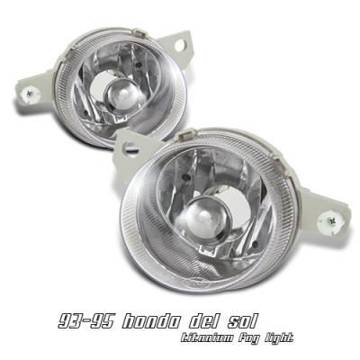 OptionRacing - Honda Civic Option Racing Headlight - 10-20207