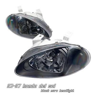 OptionRacing - Honda Del Sol Option Racing Headlight - 10-20208