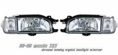 OptionRacing - Mazda Protege Option Racing Headlight - 10-31219