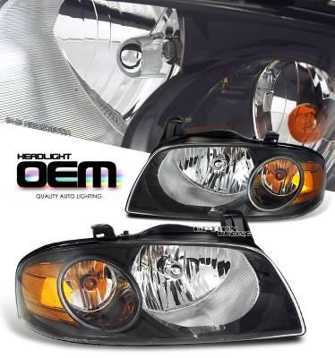 OptionRacing - Nissan Sentra Option Racing Headlight - 10-36238