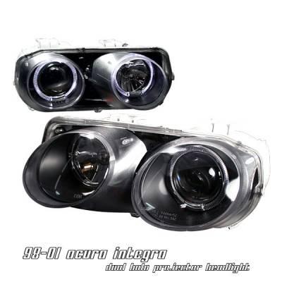 OptionRacing - Acura Integra Option Racing Projector Headlight - 11-10103