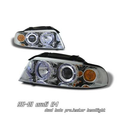 OptionRacing - Audi A4 Option Racing Projector Headlight - 11-11107