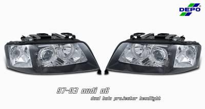OptionRacing - Audi A6 Option Racing Projector Headlight - 11-11109