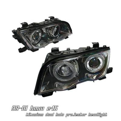 OptionRacing - BMW 3 Series Option Racing Projector Headlight - 11-12126