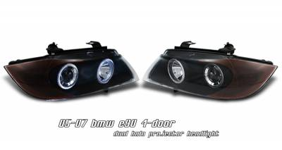 OptionRacing - BMW 3 Series Option Racing Projector Headlight - 11-12127