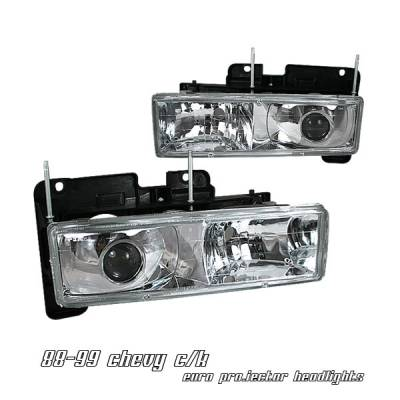 OptionRacing - Chevrolet C10 Option Racing Projector Headlight - 11-15132