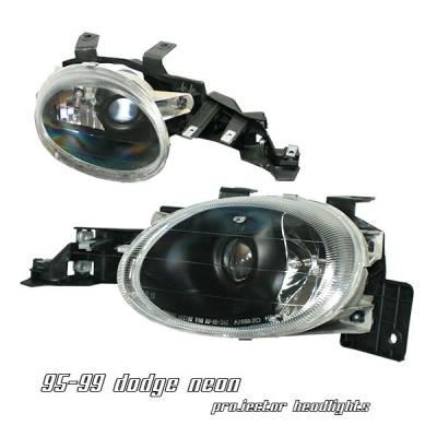 OptionRacing - Dodge Neon Option Racing Projector Headlight - 11-17139