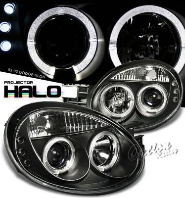 OptionRacing - Dodge Neon Option Racing Projector Headlight - 11-17289