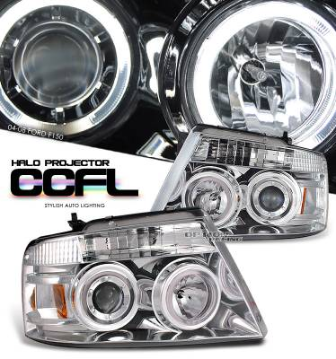 OptionRacing - Ford F150 Option Racing Projector Headlight - 11-18147