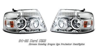 OptionRacing - Ford F150 Option Racing Projector Headlight - 11-18148