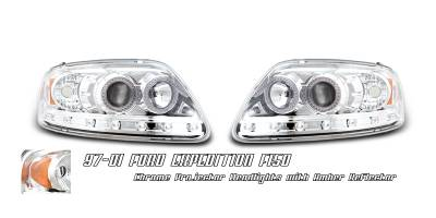 OptionRacing - Ford Expedition Option Racing Projector Headlight - 11-18151